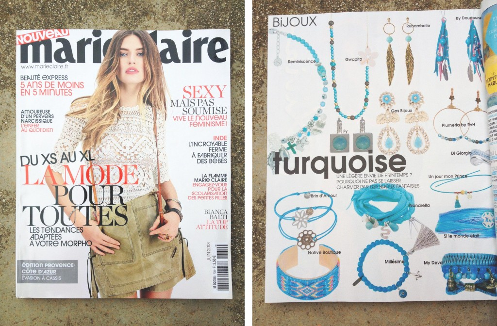Publication Marie Claire