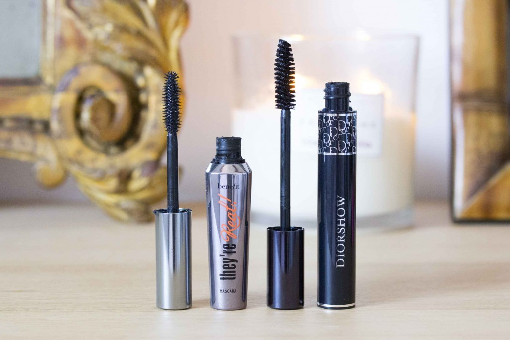mascara they're real benefit et diorshow